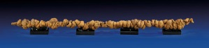 Lot 340 may be the world's longest known example of dinosaur coprolite (or fossilized dung). Measuring 3 feet 4 inches long, it could fetch up to $10,000 at I.M. Chait Gallery's auction on Saturday.